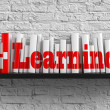 E-learning. Education Concept. — Foto Stock
