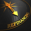 Refinancing. Business Background. — Stock Photo
