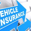 Stock Photo: Vehicle Insurance. Business Concept.