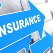 Insurance. Business Background. — Stock Photo