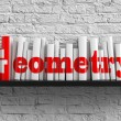 Geometry. Education Concept. — Stockfoto