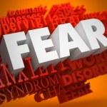 Fear Concept. — Stock Photo