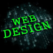 Web Design. Internet Concept. — Stock Photo