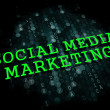 Social Media Marketing. Business Concept. — Lizenzfreies Foto