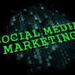 Social Media Marketing. Business Concept. — Stock fotografie