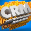 CRM. Business Concept. — Foto Stock