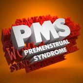 PMS Concept. — Stock Photo