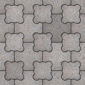 Paving Slabs. Seamless Tileable Texture. — Stock Photo