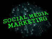 Social Media Marketing. Business Concept. — Stock Photo