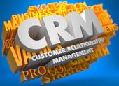 CRM. Business Concept. — Stock Photo