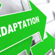 Adaptation on Green Arrow. — Stock Photo