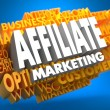 Affiliate Marketing. Wordcloud Concept. — Stock Photo #35514525
