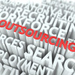 Outsourcing. Wordcloud Concept. — Stock Photo #35515163