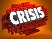 Crisis Concept. — Stock Photo