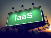 IAAS - Billboard on the Sunrise Background. — Photo
