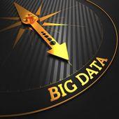 Concepto de datos grandes. — Foto de Stock