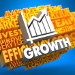 Stock Photo: Growth. Wordcloud Concept.
