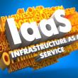Stock Photo: IAAS. Wordcloud Concept.