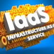 IAAS. Wordcloud Concept. — Stock Photo
