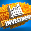 Investment. Wordcloud Concept. — Stock Photo