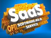 SAAS. Wordcloud Concept. — Stock Photo