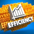 Concept of Growth Efficiency. — Stock Photo