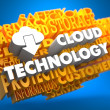 Cloud Technology Concept. — Stock Photo