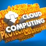 Cloud Computing Concept. — Stock Photo #36772103