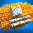 Improve Your Performance Concept. — Stock fotografie #36772117