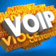 VOIP. Wordcloud Concept. — Stock Photo