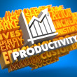 Stock Photo: Productivity. Wordcloud Concept.