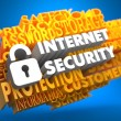 Internet Security Concept. — Stock Photo