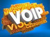 VOIP. Wordcloud Concept. — Stock Photo