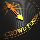 Crowd Funding Concept. — Stock Photo
