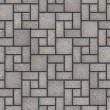 Paving Slabs. Seamless Tileable Texture. — Stock Photo