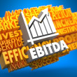 Stock Photo: EBITDA. Wordcloud Concept.