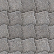 Granular Paving Slabs. Seamless Tileable Texture. — Stock Photo #38933631