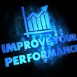 Improve Your Performance Concept. — Stock fotografie #39213179