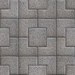 Granular Paving Slabs. Seamless Tileable Texture. — Stock Photo #39583523