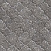 Figured Pavement. Seamless Tileable Texture. — Stock Photo