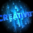 Creativity on Digital Background. — Stock Photo #39876225