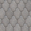 Grainy Paving Slabs. Seamless Tileable Texture. — Stock Photo