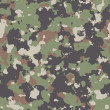 Stock Photo: Woodland Camouflage. Seamless Tileable Texture.