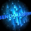 Stock Photo: Benchmarking on Digital Background.