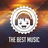 The Best Music Concept on Triangle Background. — Stok fotoğraf