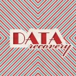 Stock Photo: DatRecovery Concept on Striped Background.
