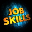 Job Skills Concept on Digital Background. — Stock Photo