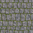 Granite Sett. Seamless Tileable Texture. — Stock Photo