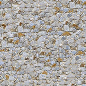 Stone Wall. Seamless Tileable Texture. — Stock Photo