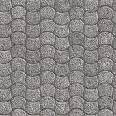 Granular Paving Slabs. Seamless Tileable Texture. — Stock Photo